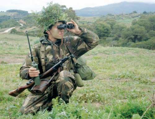 autorités militaires à Tamanrasset