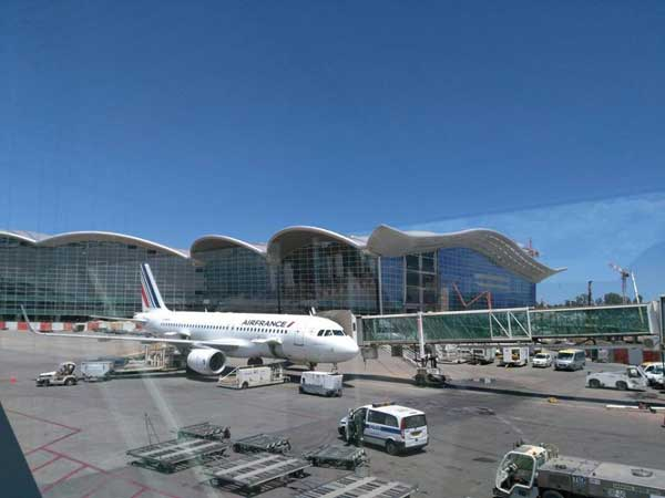 l'aéroport d'Alger
