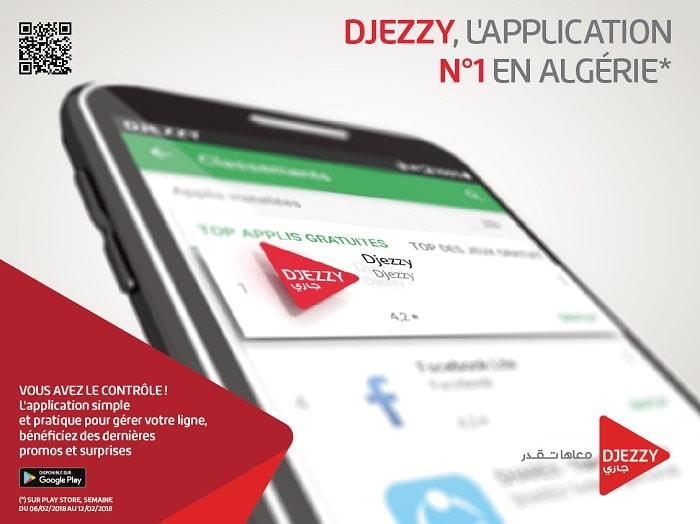téléchargements de l'application Djezzy