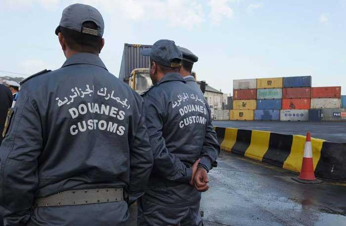 système d'organisation des douanes algériennes