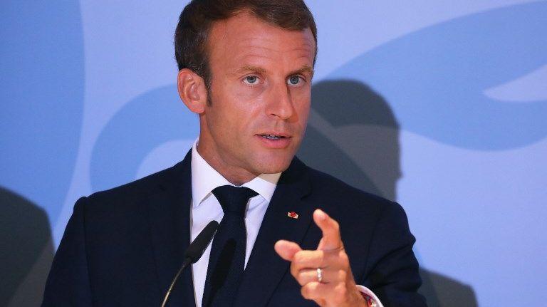 Emmanuel Macron : « Le combat qu'on mène contre le terrorisme et l'islamisme radical est un combat européen »