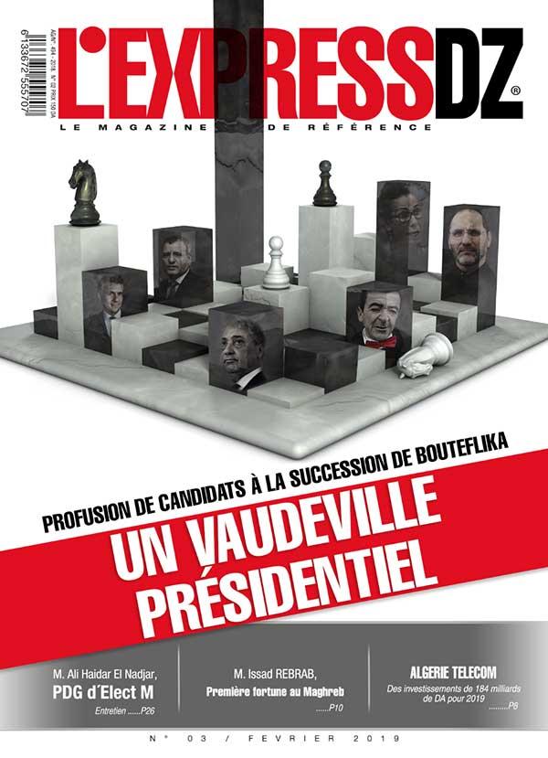 L'express DZ magazine Fevrier 2019