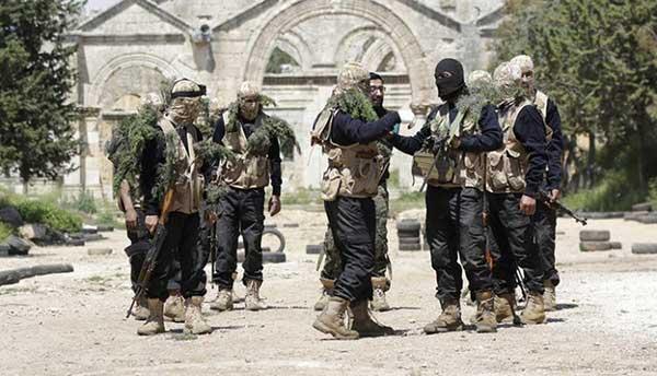 terroristes syriens et yéménites