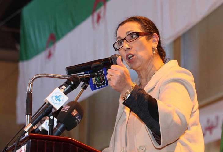 Louiza Hanoune craint pour sa vie