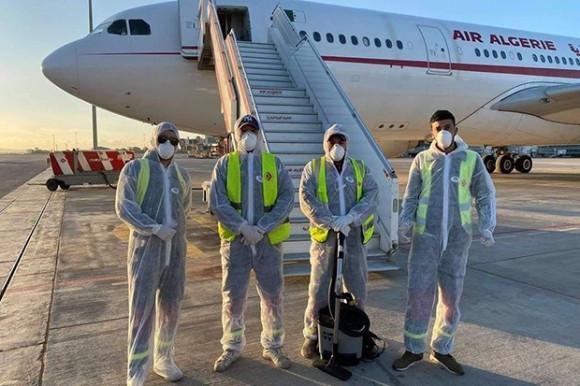 Coronavirus : 297 Algériens rapatriés du Royaume-uni
