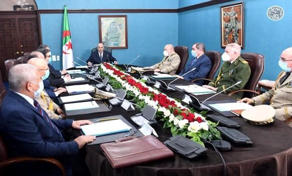 Tebboune préside lundi une réunion du Haut conseil de sécurité