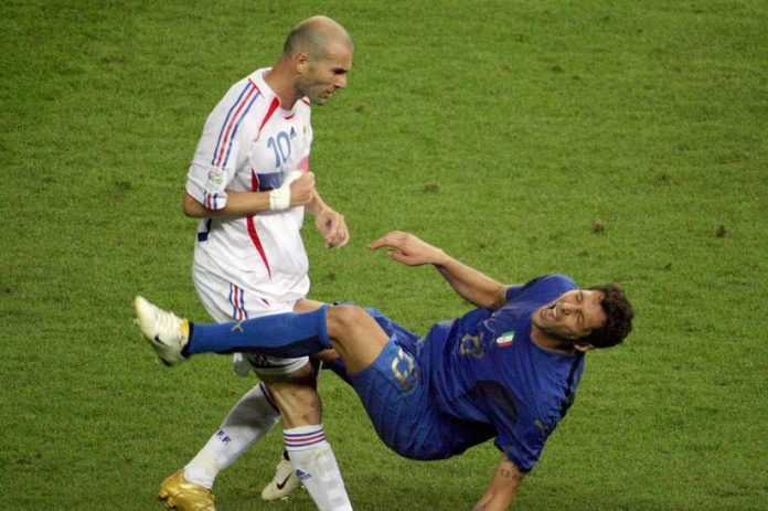 Materazzi révèle ce qu'il a dit à Zidane avant le coup de tête