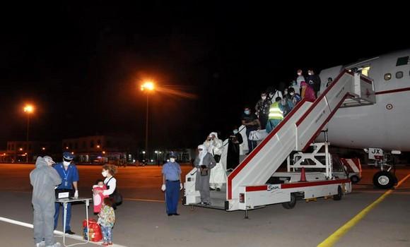 Tlemcen: 233 algériens rapatriés du Maroc