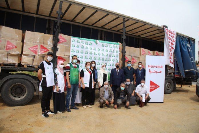 Djezzy poursuit la distribution des couffins au profit des familles démunies