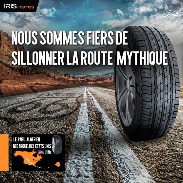 Le pneu IRIS exporté aux USA