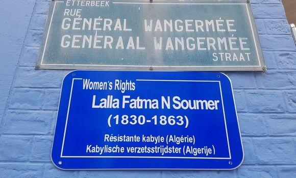 Bruxelles: une rue baptisée du nom de Lalla Fatma N'Soumer