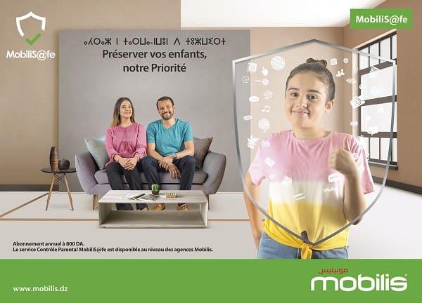 Mobilis: Le service contrôle parental MobiliS@fe pour Protéger les enfants