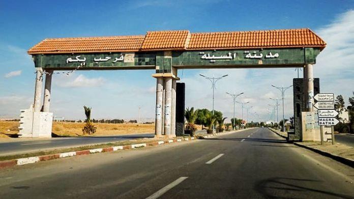 M'Sila: confinement pour 5 communes