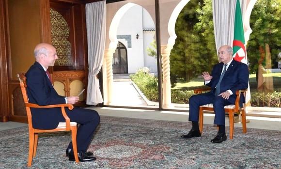 Le Président Tebboune ce soir sur France 24