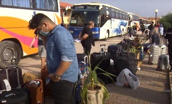 Fin de confinement pour 236 algériens rapatriés de Russie