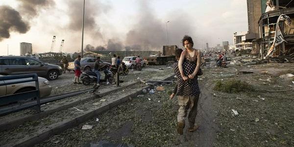 Explosion de Beyrout: l'Algérie envoie des aides d'urgence et un bateau de matériaux de construction