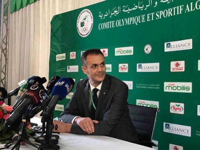 Abderrahmane Hammad nouveau président du Comité olympique et sportif algérien