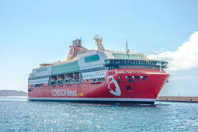Corsica Linea reporte la reprise de ses liaisons Maritimes avec l'Algérie