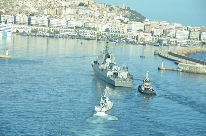 OTAN: une frégate accoste au port d'Alger