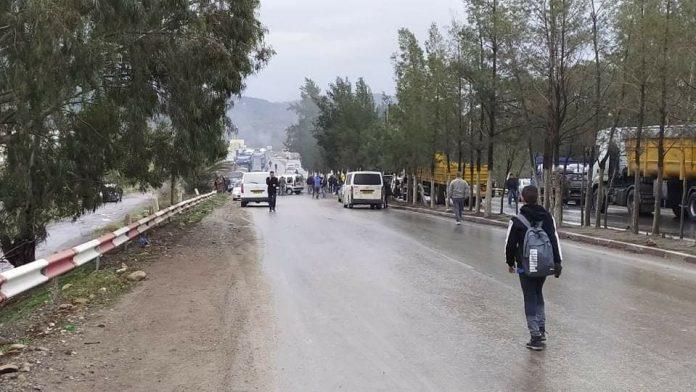 Béjaia : La RN 26 fermées par des citoyens de Tifra