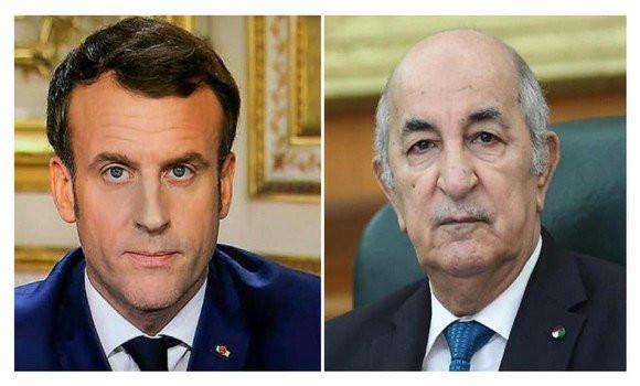 Tebboune reçoit un appel téléphonique de Macron