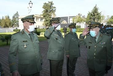 Le Général-Major Nour-Eddine Makri, installé à la tête de la DGDSE