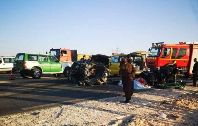 Accident de la route à El Oued: huit morts