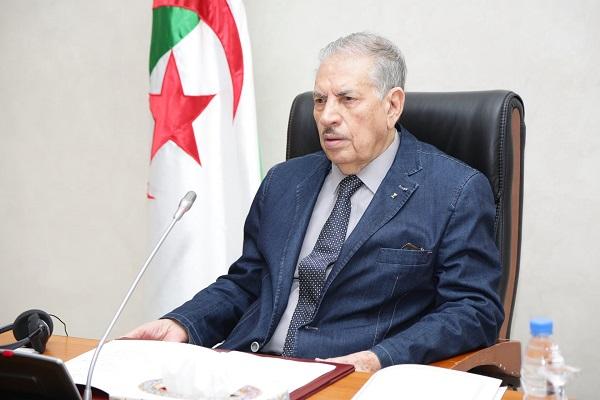 Salah Goudjil, 90 ans, confirmé président du Conseil de la Nation