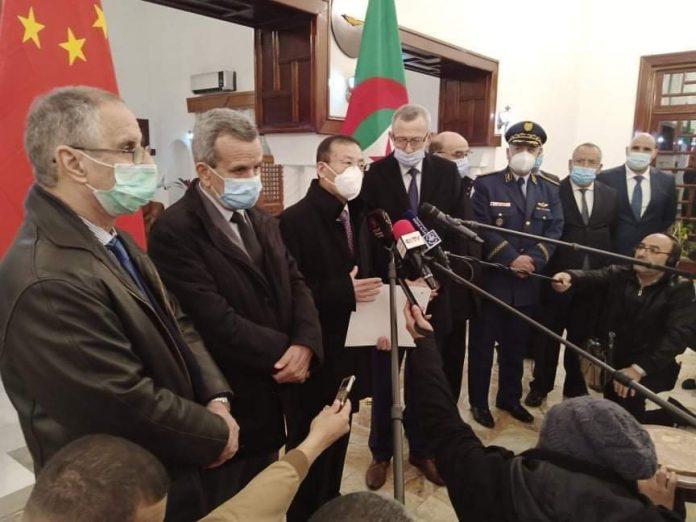 Covid-19: reception d'un don de 200.000 doses du vaccin chinois Sinopharm