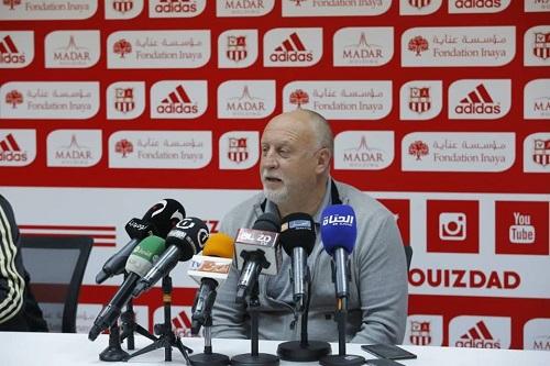 CRB: l'entraîneur Franck Dumas quitte le club