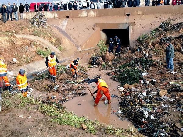Crue de l'Oued Meknassa à Chlef : le bilan s'alourdit à neuf morts