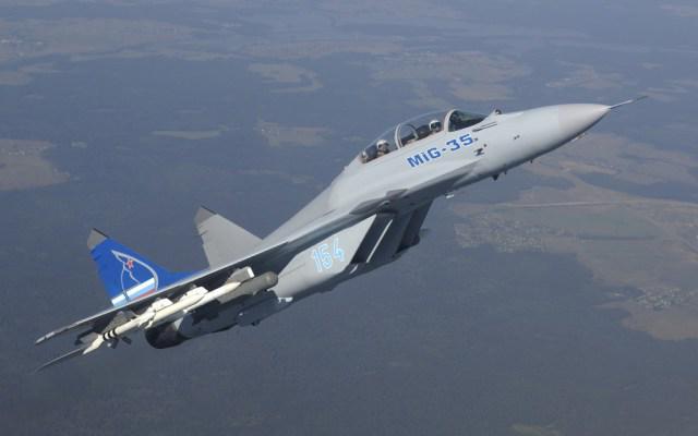 Les nouveaux chasseurs MiG-35 S livrés à l'armée de l'air russe