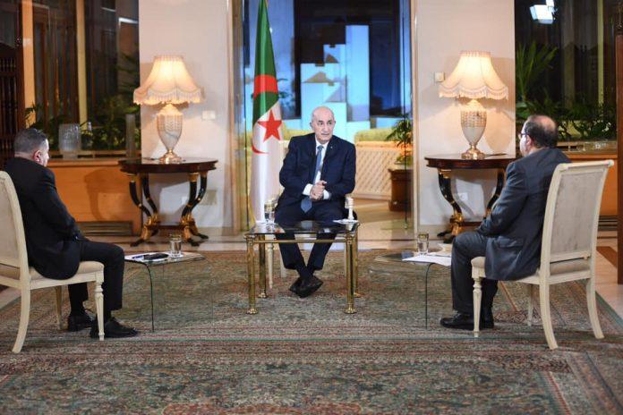Rencontre avec les médias: ce qu'a dit le président Tebboune