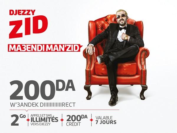 Avec Djezzy « ZID », vous n'aurez rien à ajouter !