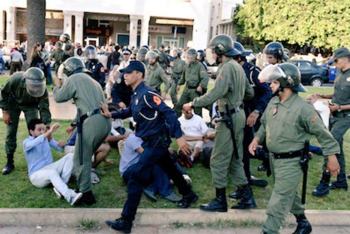 Maroc: un rassemblement de soutien à la Palestine violemment réprimé à Rabat
